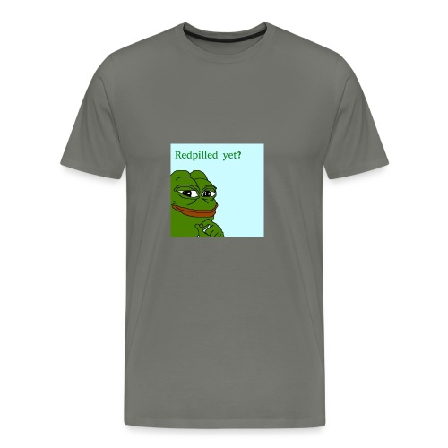 Smug Pepe Design - Men's Premium T-Shirt
