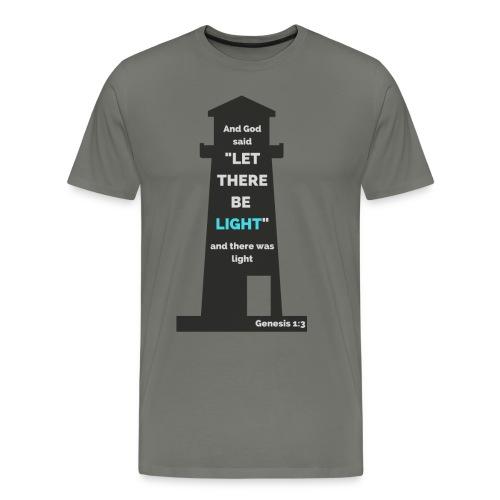Genesis 1:3 - Men's Premium T-Shirt