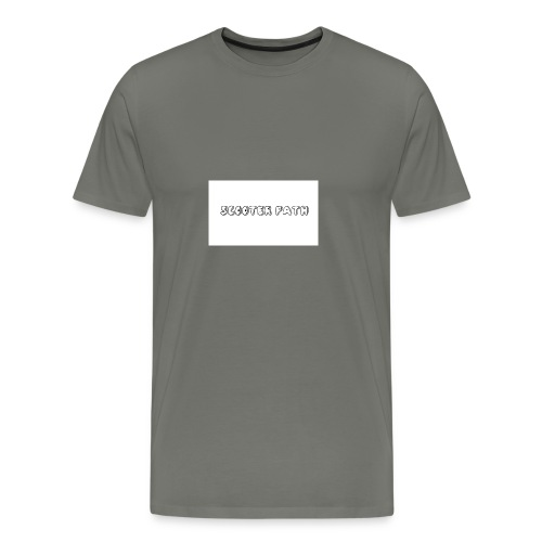 scooter path - Men's Premium T-Shirt