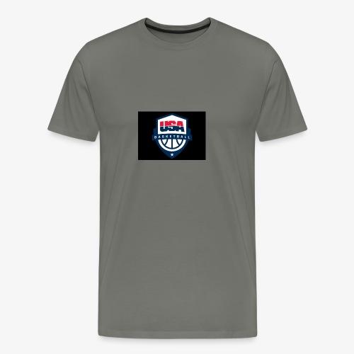 Team USA phone cases or shirts - Men's Premium T-Shirt