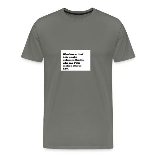 1 TWA TWA - Men's Premium T-Shirt