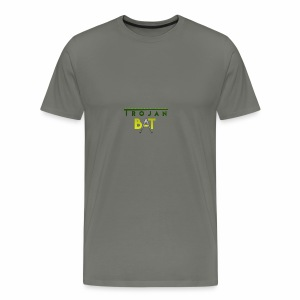 New Trojan Bat Logo - Men's Premium T-Shirt