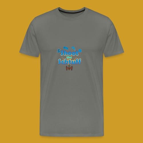 Official Shoot The Schtuff Logo - Men's Premium T-Shirt