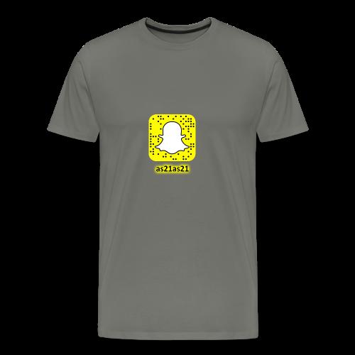 Alden's Snapchat - Men's Premium T-Shirt