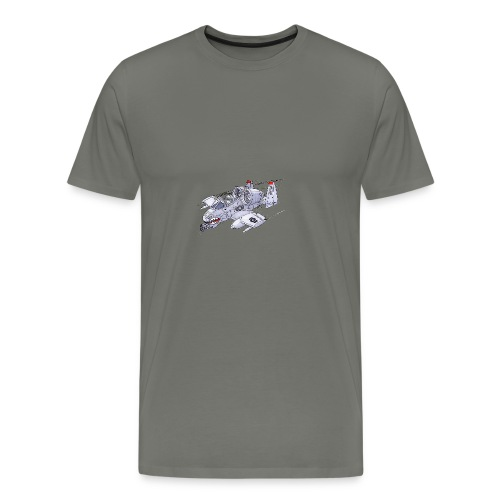 Randy In an A-10 - Men's Premium T-Shirt