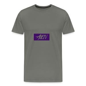 Alien-word-logo - Men's Premium T-Shirt