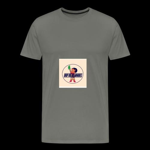 DROP OUT BILLIONAIRES ATTIRE - Men's Premium T-Shirt