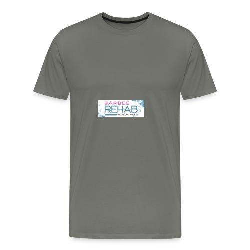 barbeerehabpink - Men's Premium T-Shirt