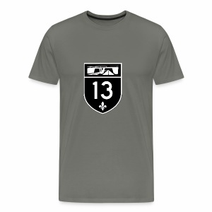 Highway 13 - Men's Premium T-Shirt