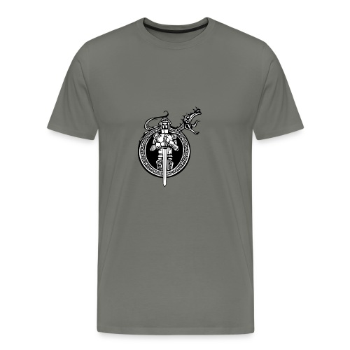 logo knight - Men's Premium T-Shirt