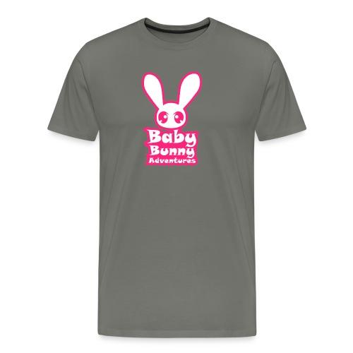 babybunnyadventureslogo - Men's Premium T-Shirt