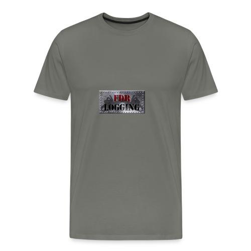 FDR Logging Main Logo - Men's Premium T-Shirt