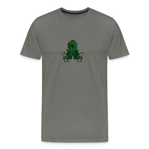 Tentacle Helm -Green - Men's Premium T-Shirt