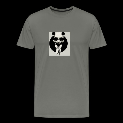 A dressed up panda - Men's Premium T-Shirt