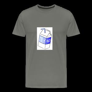 Boîte de lait - T-shirt premium pour hommes