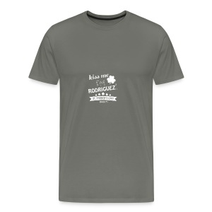 i'm mostly peace love and light and a little - Men's Premium T-Shirt