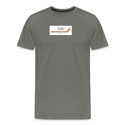 Hockey Stick - Men's Premium T-Shirt