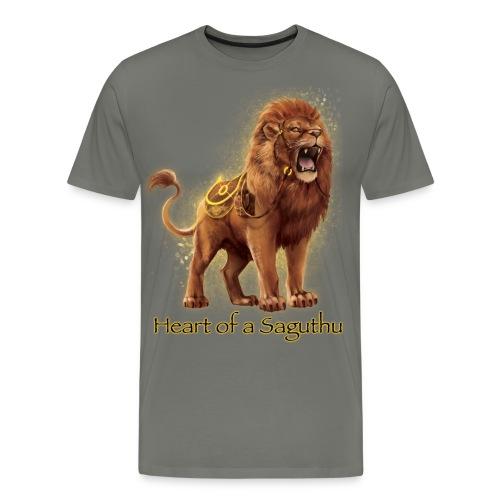 Heart of a Saguthu - Men's Premium T-Shirt