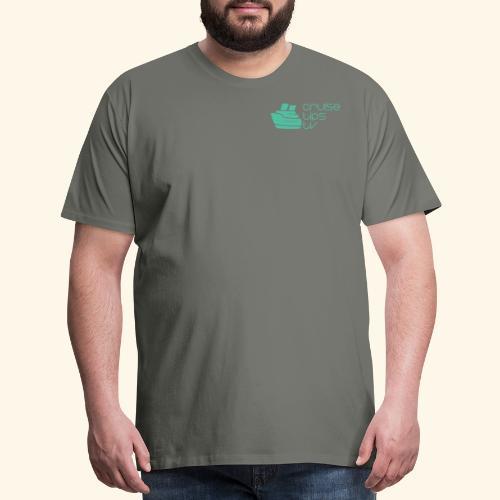 CruiseTipsTV Logo Mike's Way - Men's Premium T-Shirt