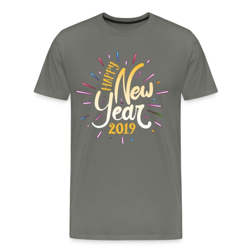Happy New Year 2019 - Men's Premium T-Shirt