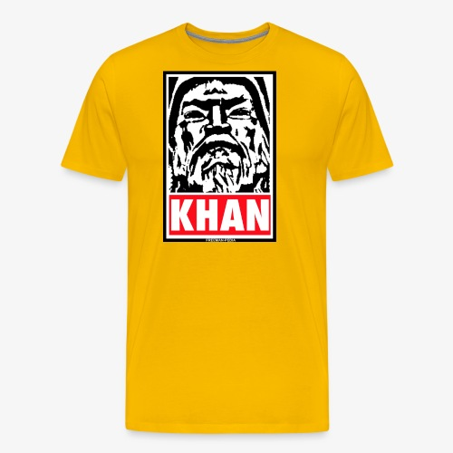 Obedient Khan - Men's Premium T-Shirt