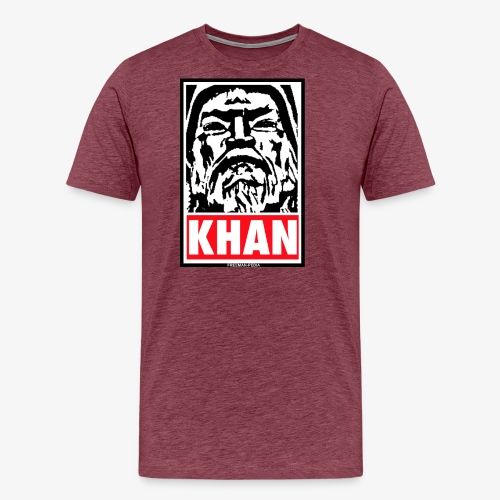 Obedient Khan - Men's Premium T-Shirt