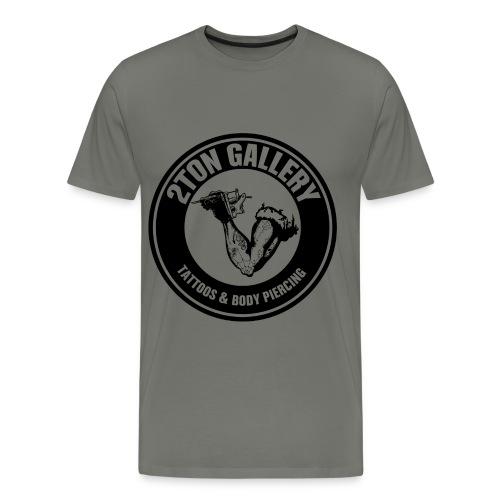 2tontattooshirtblackout - Men's Premium T-Shirt