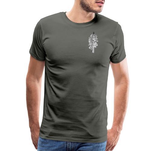 Grey Feather - Men's Premium T-Shirt