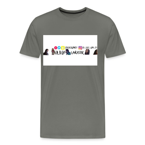 YouTube channel art - Men's Premium T-Shirt