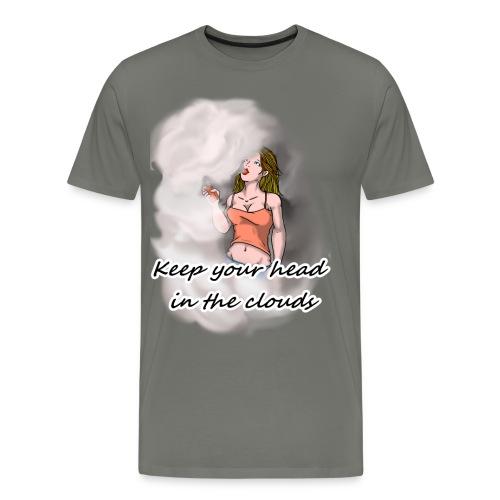 VAPE GIRL - Men's Premium T-Shirt