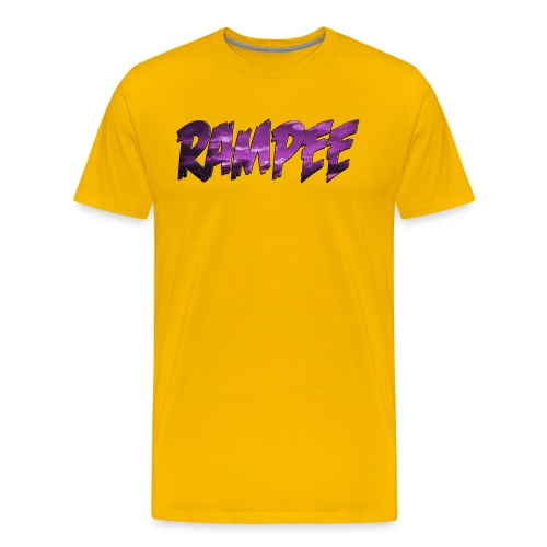 Purple Cloud Rampee - Men's Premium T-Shirt