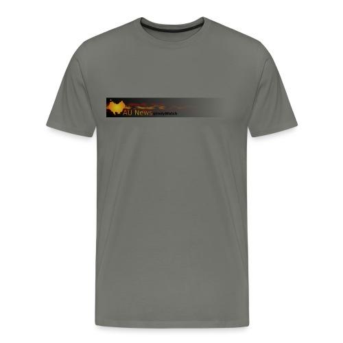 aunews - Men's Premium T-Shirt