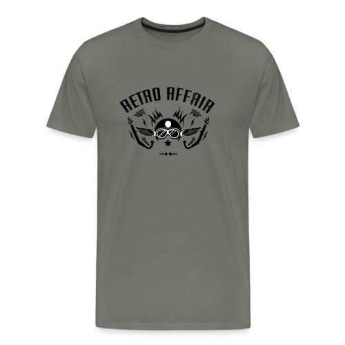 Retro Pipes - Men's Premium T-Shirt