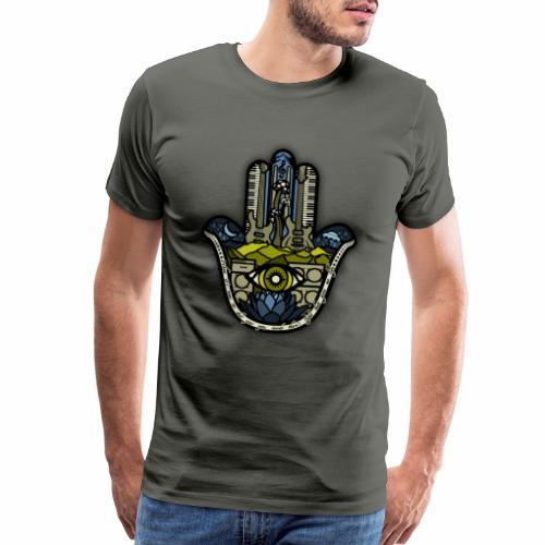 Hatti's Hamsa - Men's Premium T-Shirt