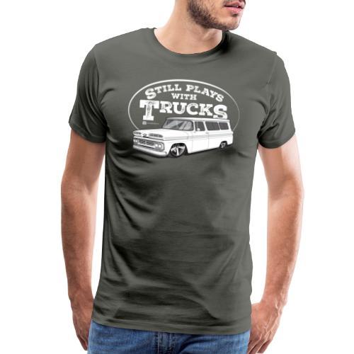 60Suburban WHT - Men's Premium T-Shirt