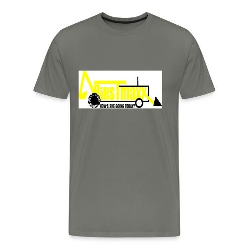 billstmaxx tractor logo jpg - Men's Premium T-Shirt