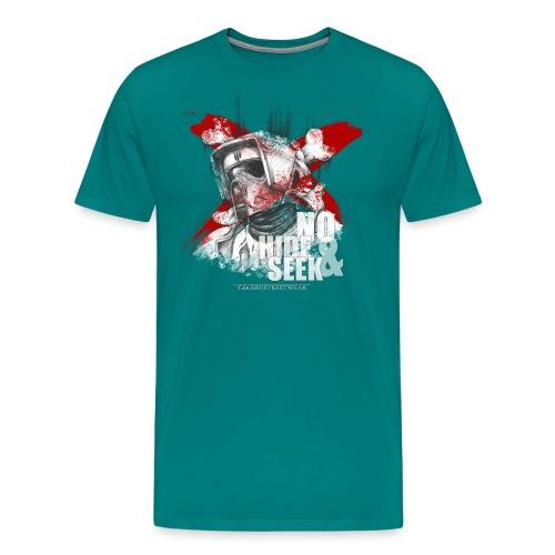 No hide & Seek - Men's Premium T-Shirt