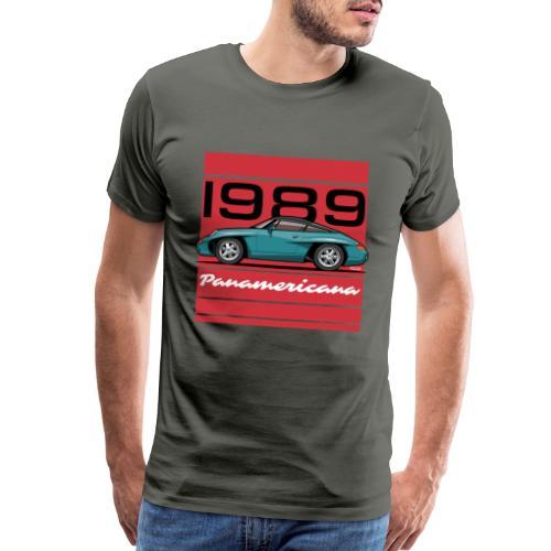 1989 P0r5che Panamericana Concept Car - Men's Premium T-Shirt