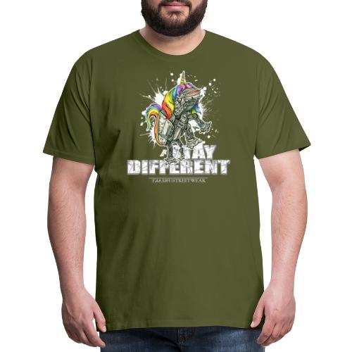Stay Different! - Men's Premium T-Shirt