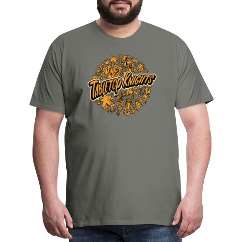 Orange Over The Top TTK - Men's Premium T-Shirt