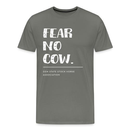 Fear no cow. - Men's Premium T-Shirt