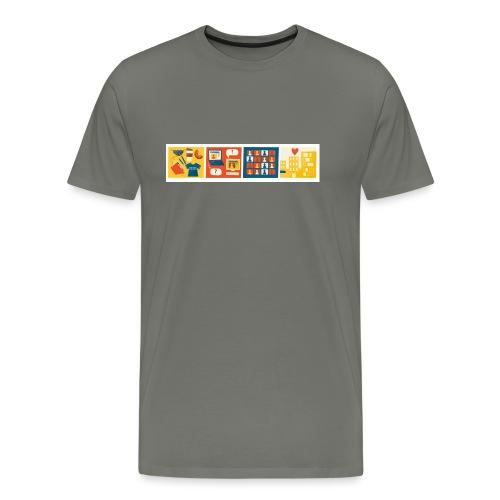 css logo 4th conf - Men's Premium T-Shirt