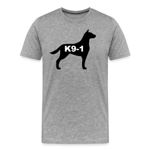 k9-1 Logo Large - Men's Premium T-Shirt