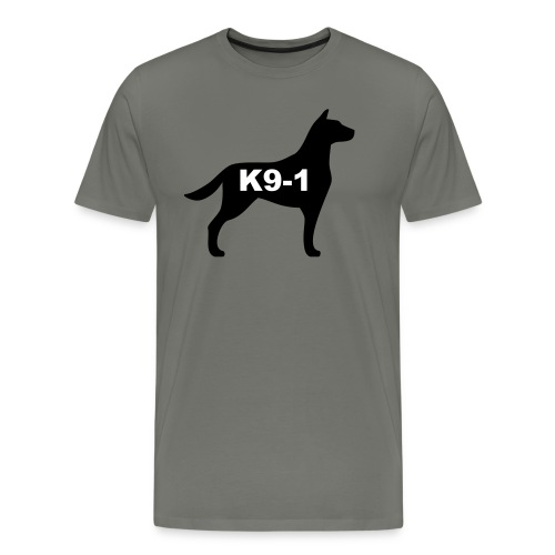 k9-1 Logo Large - Men's Premium T-Shirt