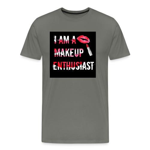 MAKEUP ENTHUSIAST (VERSION 2) - Men's Premium T-Shirt
