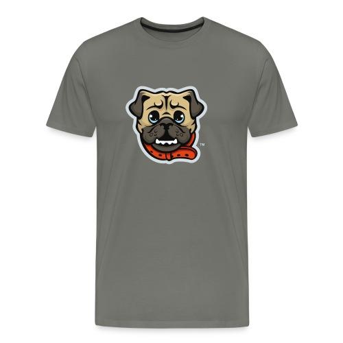 Pug_Mascot_WhiteBG - Men's Premium T-Shirt