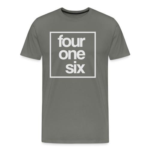 crew neck - four one six - Men's Premium T-Shirt
