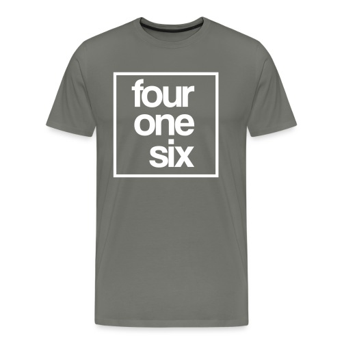 crew neck - four one six - Men's Premium T-Shirt
