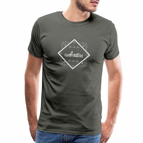 unbeaten logo - Men's Premium T-Shirt