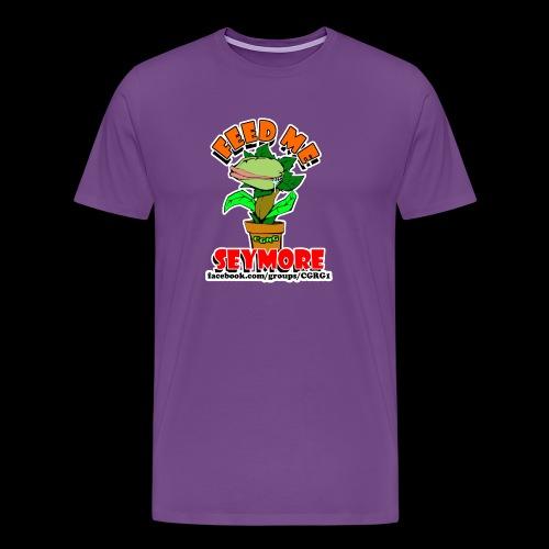 FEED ME SEYMORE - Men's Premium T-Shirt